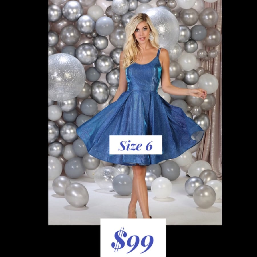 New With Tags Size 6 Short Formal Dress $99