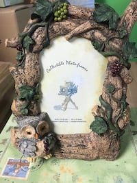 Brand new in box OWL BIRD GRAPE VINE PICTURE PHOTO FRAME COUNTRY null, K0A 3H0