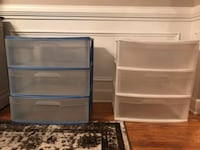 Large 3 drawer storage bins 525 mi