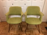 2 modern arms chairs  Jersey City