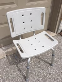 Bathtub shower chair with adjustable legs - $55 Mississauga