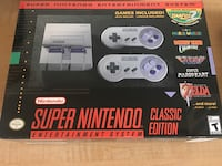 Snes Super Nintendo Classic with over 200 games! Snes and Nes mixed!  Akron, 44313