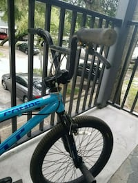blue and black hardtail mountain bike Tampa, 33604