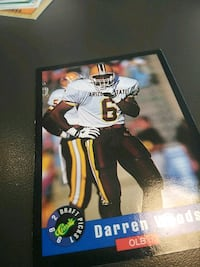 autographed football player trading card Baltimore, 21212