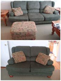 Couch, love seat, and ottoman Morris County, 07054