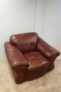 brown leather recliner sofa chair Woodbridge, 22192