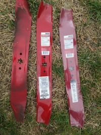 Craftsman riding lawnmower blades