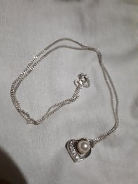 silver-colored necklace MAKATI