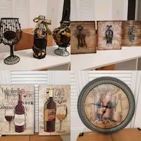 Wine Lover Home Decor Collection (9 items) Annandale, 22003
