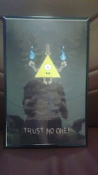 Gravity Falls poster with frame Thunder Bay, P7A 7Y8