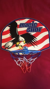 red, white, and blue Magic Shot basketball hoop Vaughan, L4L 7E9