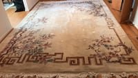 brown and gray floral area rug Davidsonville, 21035