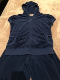 Juicy Couture tracksuit blue top and bottom. Sale is final!
