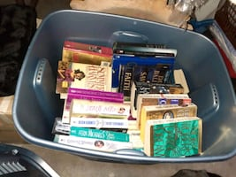 Books, paperbacks and hardcover , good variety  .50 up to $4