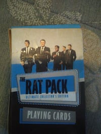 The Rat Pack ultimate collector's edition playing cards box Lebanon, 37087
