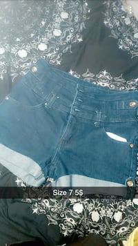 women's blue denim short shorts Dartmouth, B2X 1N8