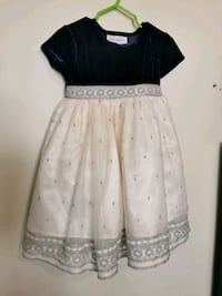 Beautiful girls Party dress Blue and White Calgary, T1Y 5K2