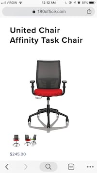 !!!PRICE DROP!!! Office chair in excellent condition Laval, H7L 3K8