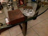 black and brown wooden table Delray Beach, 33444
