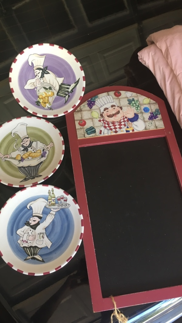 Used Happy Chef Kitchen Decor For Sale In Tyler Letgo