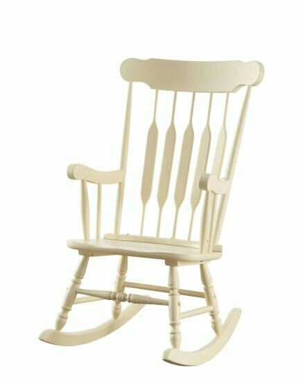used white wooden rocking chair for sale in college park letgo rh us letgo com