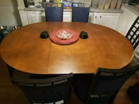 Gaming Table w/6 chairs Walkersville, 21793