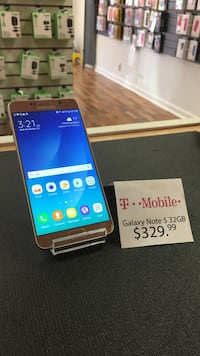T-Mobile Galaxy Note 5 32GB