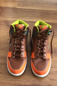 Nike SB Dunk High Tops Brown Leather Ayakkabı Güngören, 34173