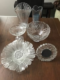 Crystal dishes 537 km