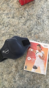 Active wii active personal trainer disc and knee wrap Homewood, 35209