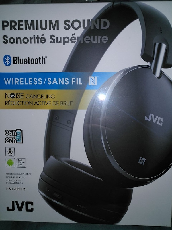 Used Jvc Bluetooth Noise Cancelling Over Ear Headphones For Sale In
