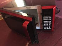 black and red microwave oven 263 mi