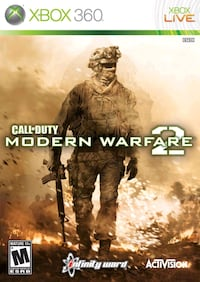 call of duty modern warfare 2 (xbox 360) Strathroy, N7G 1K4