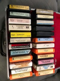 8 track tapes Lot of 24 with case Whitchurch-Stouffville, L4A 0J2