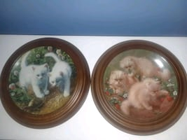Amy Brackenbury Cat Tales plate collection
