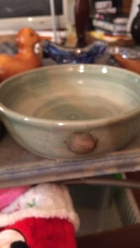 Ceramic/ Shells Bowl