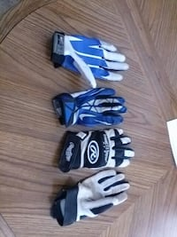 nike white and blue racing gloves Sartell, 56377