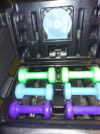 20 LB DUMBBELL WITH CASE AND DVD Toronto