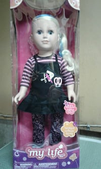 My life Hair stylist doll London, N6E 2X6