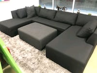 U sectional sofa couch