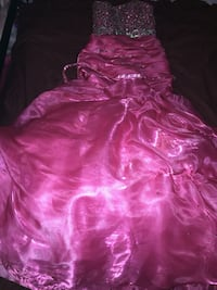 Customized Prom Dress Tear Away At Waist For Party Dress