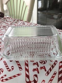 Glass Butter Dish Bolton, L7E 5Y6