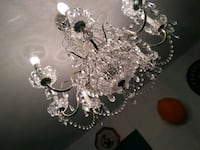 Real crystal chandelier  Toronto, M1E 2S2