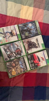 Assorted xbox 360 games Ossining