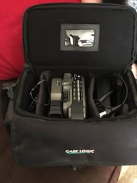 Video Camera with bag