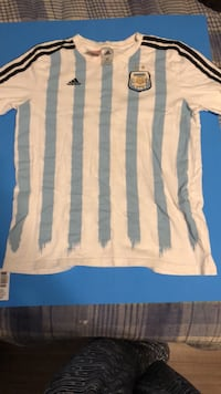 Messi Argentina jersey soccer