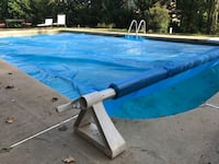 Solar cover + PoolZone reel system for 20x40 inground pool Sandy Springs, 30327