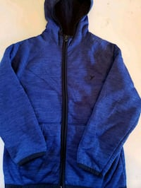 blue zip-up hoodie Sterling, 20164