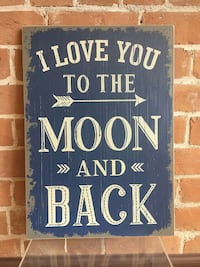 blue and white I love you to the moon and back pri Prescott Valley, 86314