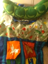 baby's blue and green floral print dress Dayton, 45404